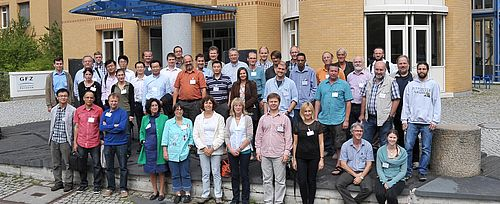 Participants at BGSW7, August 2013